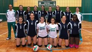 Selección andaluza Cadete femenina de voleibol.