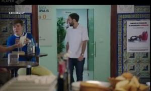 José ha sido figurante en la serie de televisión 'Allí abajo' durante tres temporadas.