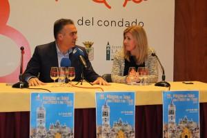 Manuel García Félix y Ángela Martínez presentaron la Muestra.