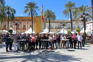 La Plaza de España de la Palma es un escenario ideal para la Muestra.