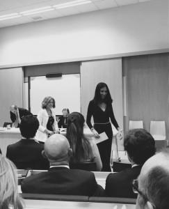 Belén ha ganado el primer Premio de la Cátedra Santander de Derecho
