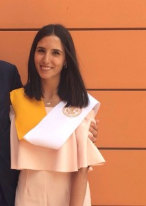 Belén estudió en ICADE, Madrid.