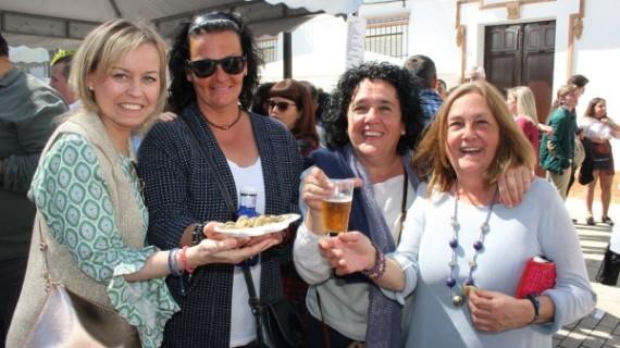La Palma de Fiesta con su Muestra de Habas con Poleo y del Vino
