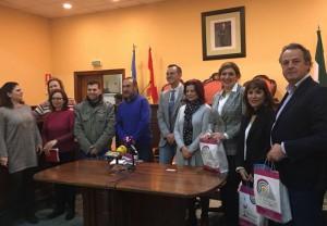 Visita al Ayuntamiento de Lucena (Córdoba).
