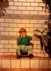 Ya de pequeña comenzó a destacar por sus dotes creativas.