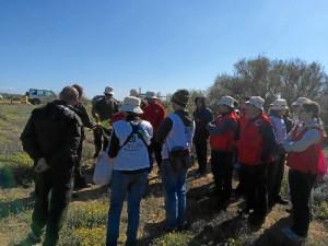 Posteriormente se llevó a cabo el trabajo de campo, que se enmarca en el proyecto Life Conhabit Andalucía.