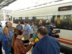 La apertura ha causado mucha expectación mediática. / Foto: Juan Aurelio Pecino.