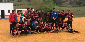 El Pinzón, campeón de la Primera Andaluza onubense. / Foto: @OficialPinzon.