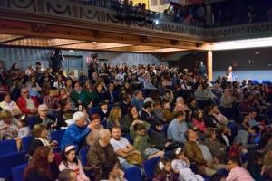 Numeroso público asistió al evento.