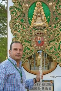 Carlos Quintero encabeza una de las candidaturas a hermano mayor.