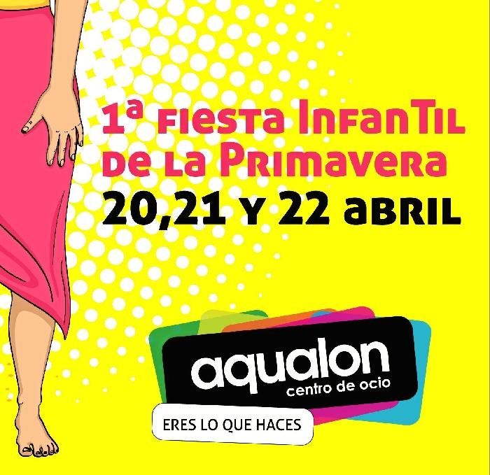 El centro de ocio Aqualon celebra la llegada de la primavera con una gran fiesta infantil