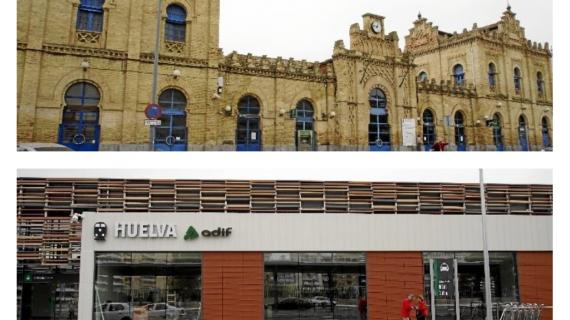 Huelva dice adiós a su antigua estación de tren, una joya neomudéjar pionera en España