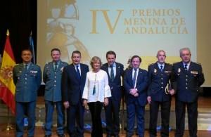 Adela obtuvo el Premio Meninas de la Junta de Andalucía en 2016.