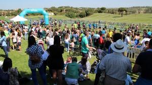 Un éxito de participación y de público resultó este evento deportivo.