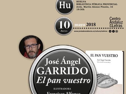 La Biblioteca de Huelva acoge la presentación del nuevo poemario de José Ángel Garrido 'El pan vuestro'