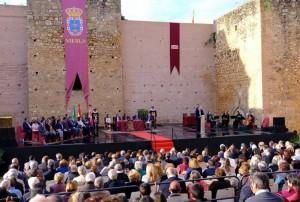 Acto de celebración del 650 aniversario del Condado de Niebla.