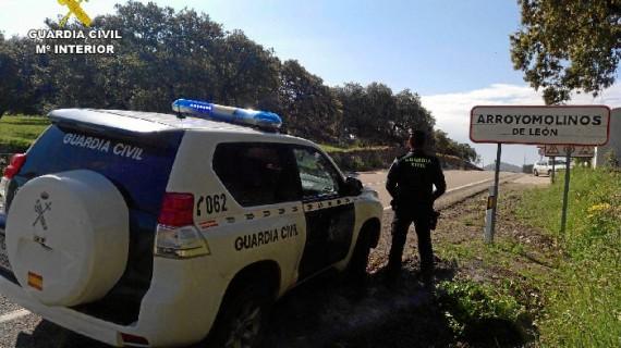 Detenido un varón por varios robos en la localidad de Arroyomolinos de León