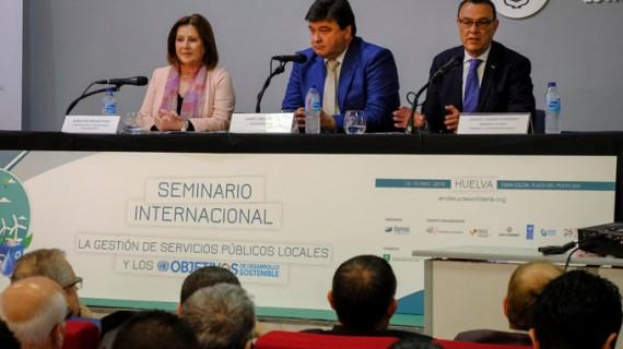 El FAMSI celebra en Huelva el Seminario Internacional 'La Gestión de los Servicios Públicos Locales y los ODS'