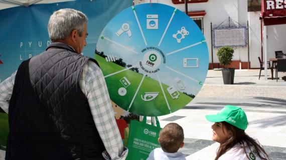 La campaña 'Dona vida al planeta' llega hasta el municipio onubense de Almonte