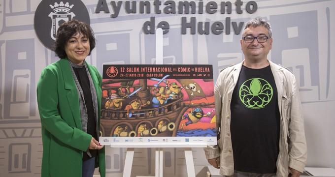 Grandes dibujantes y una exposición sobre Star Wars, en el XII Salón Internacional del Cómic de Huelva