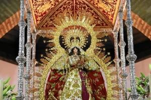 La romería se celebra en honor de la Virgen de Montemayor.