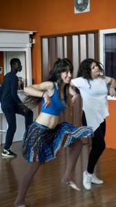 Ha participado impartiendo talleres y realizando espectáculos de danza en congresos internacionales como es el 'Workshop Ibérico' en Portugal, 'Bachata Beach' en Huelva, 'Encuentro Cultural MAD África' en Huelva y la I y II 'Gala Benéfica Huelva con el Sahara'.