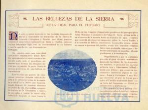 En sus páginas de interior se mostraba la riqueza turística de toda la provincia de Huelva.