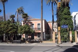 Colchero aboga por restaurar 'La Casona', donde vivió María Luisa con su familia, y ponerla en valor junto a su figura. / Foto: mapio.es