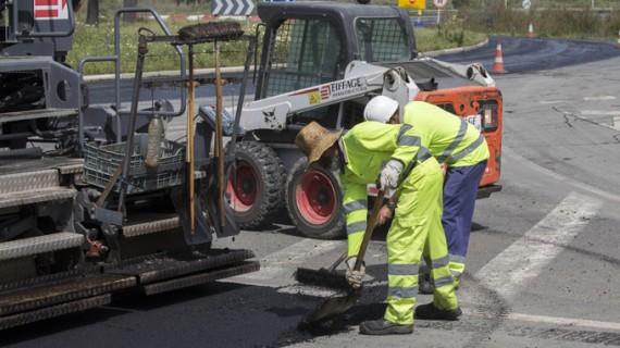 Las obras de asfaltado se mantienen la próxima semana en Huelva