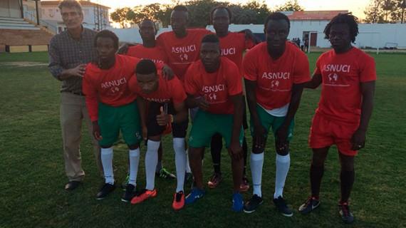Un equipo formado por jugadores de Mali, Senegal y Guinea Conakry, campeón del XX Torneo Intercultural de Fútbol 7 de Lepe
