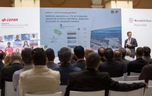 Hector Perea durante su intervención. / Foto: Alberto Díaz
