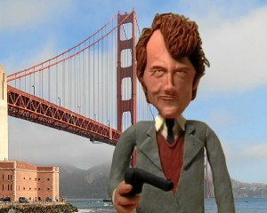 Clint Eastwood en 'Los duros de Bronson'.
