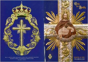 Portada del boletín de la Santa Cruz de Arriba de Villarrasa.