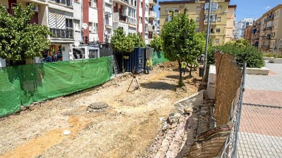 Arrancan las obras de peatonalización de la calle Adriano, en el Molino de la Vega