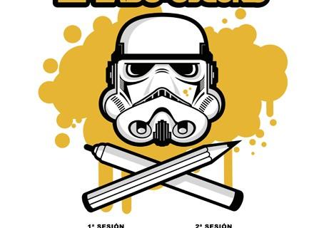 La saga Star Wars se retrata en el taller 'Dibujando el lado oscuro' de la Fundación Cajasol