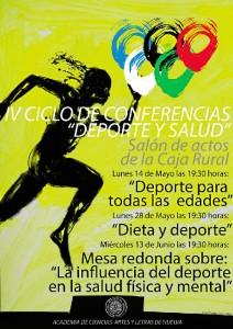 Cartel ciclo 'Deporte y Salud'