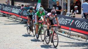 El Circuito Provincial de Huelva de Ciclismo en Carretera 2018 vivió este domingo una intensa jornada en Bollullos.
