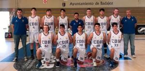 Buena actuación del Ciudad de Huelva en el Campeonato de España Júnior de baloncesto.