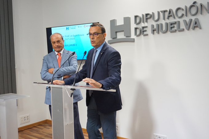 La alianza entre Diputación y Cámara de Comercio posibilita una inversión de 1,8 millones en la provincia