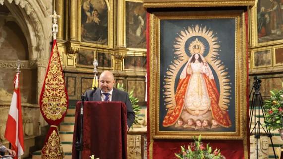 Inolvidable pregón de Antonio Rodríguez a la Virgen de Montemayor en Moguer