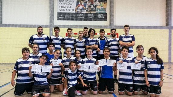 El IES La Orden de Badminton cultivando cantera con permanente actividad