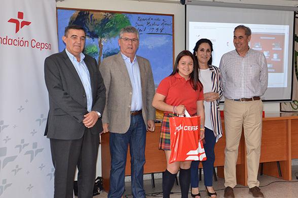 La Fundación Cepsa premia el talento y la creatividad de los escolares de Huelva