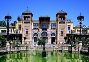 Museo de Artes y Costumbres Populares de Sevilla, otro de los edificios construido en 1929. / Foto: Ministerio de Educación.
