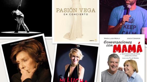 Pasión Vega, Coque Malla, Lola Herrera, Antonia San Juan, 'El Chojín' y María Luisa Merlo este verano en el Gran Teatro de Huelva