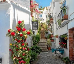 Fotografía de Frigiliana (Málaga) por Ana Vargas.