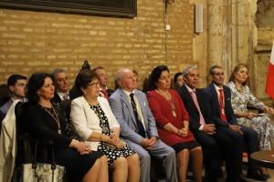 Miembros de la Hermandad Matriz y mayordomos.