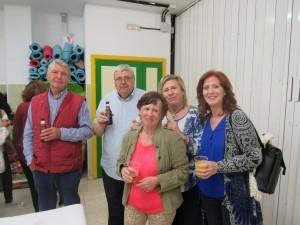 A final de la jornada se celebró un cocktail en el que participaron actuales y antiguos docentes.