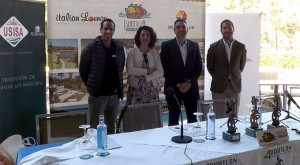 Un momento de la presentación del IV Duatlón 'Mancomunidad Islantilla Golf Resort'.