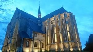 Sint-Kwinteskerk, iglesia gótica de visita obligada en Lovaina.