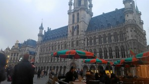 Vista de la Grand Place en la capital del país, Bruselas.
